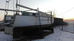Парусная яхта (алюминиевая). Длина 10,00м.