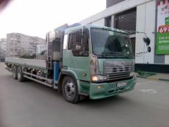 Hino Profia FR. Манипулятор, грузовик с краном не конструктор, 21 000 куб. см., 15 000 кг., 14 м.