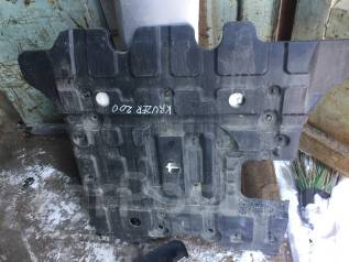 Защита двигателя. Lexus LX570, URJ201, URJ201W Toyota Land Cruiser, UZJ200W, VDJ200, GRJ200, URJ200, UZJ200, URJ201, URJ201W Двигатели: 3URFE, 1VDFTV...