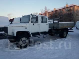 ГАЗ-33086 Земляк. Газ 33086, 3 800 куб. см., 4 500 кг.