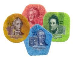 Приднестровье - набор пластиковых монет - 2014 год. Под заказ