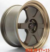 RAYS VOLK RACING. 9.0x18, 5x114.30, ET15, ЦО 73,1мм.
