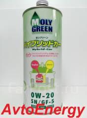 Moly Green. Вязкость 0W-20, HYBRID, синтетическое