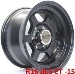 RAYS. 8.5x16, 6x139.70, ET-15, ЦО 110,1мм.
