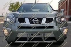 Накладка на бампер. Nissan X-Trail, NT31 Двигатель MR20DE