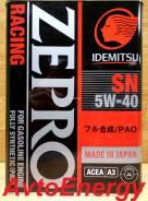 Idemitsu. Вязкость 5W-40, PAO, синтетическое