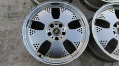 RAYS VOLK RACING. 7.5/8.5x18, 5x114.30, ET43/35, ЦО 70,0мм.
