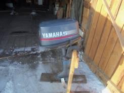 Yamaha. 5,00л.с., 2х тактный, бензин, нога S (381 мм)