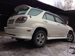 Губа. Toyota Harrier