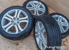 Колеса из Японии Mazda MPV Original 7Jx18 PCD 5x114,3 ET45. 7.0x18 5x114.30 ET45 ЦО 76,1мм.