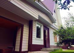 Продам дом на чёрной речке. Переулок Абрикосовый 17, р-н Океанская, площадь дома 160кв.м., скважина, электричество 30 кВт, отопление электрическое...