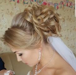 Свадебные прически/макияж