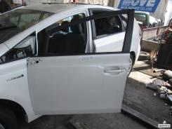 Дверь боковая. Toyota Prius a, ZVW41 Двигатель 2ZRFXE