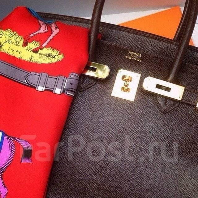 5f00243fe417 Сумка Hermes Birkin 30см в цвете шоколад - Аксессуары и бижутерия во ...
