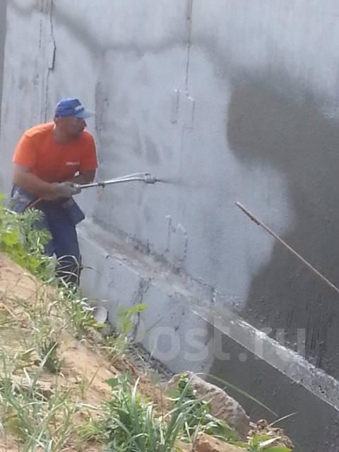 Гидроизоляция и восстановление бетонны наливной пол искусственный камень производство