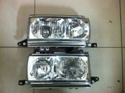 Фара Toyota LAND Cruiser 80 90-98 хрусталь LH+RH комплект