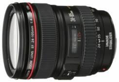 Объектив Canon EF 24-105 mm f/4 L IS USM. диаметр фильтра 77 мм