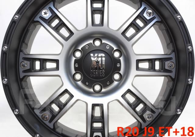 """XD Series. 9.0x20"""", 6x139.70, ET18, ЦО 108,0мм."""