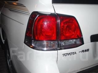 Накладка на стоп-сигнал. Toyota Land Cruiser, GRJ200, J200, URJ200, UZJ200, UZJ200W, VDJ200 Двигатели: 1GRFE, 1VDFTV, 2UZFE, 3URFE