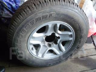 Колесо на запаску 265/70R16 Прадо диск Тойота. x16 6x139.70