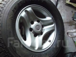 Отличное колесо на запаску 265/70R16 Prado. x16 6x139.70