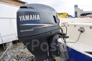 Yamaha. 115,00л.с., 4х тактный, бензин, нога X (635 мм), Год: 2006 год. Под заказ