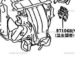 Сервопривод заслонок печки. Toyota Highlander, MCU20, ACU20, MCU23, ACU25, MCU28, MCU25 Toyota Windom, MCV30 Toyota Pronard, MCX20 Toyota Camry, MCV30...