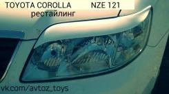 Накладка на фару. Toyota Corolla, NZE121