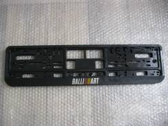 Рамка для крепления номера. Mitsubishi