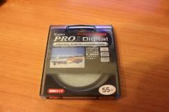 Светофильтр Kenko pro 1 digital protector W мультипросветленный 55mm. диаметр 55 мм