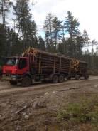 Iveco Trakker. Сортиментавоз , 12 880 куб. см., 18 000 кг.