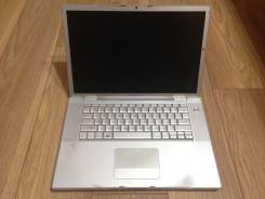 "Apple MacBook Pro 15 2008 Early MB133. 15"", 2,4 ГГц, ОЗУ 4096 Мб, диск 200 Гб, WiFi, Bluetooth, аккумулятор на 1 ч."