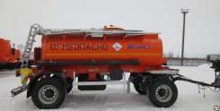 Нефаз 8602-03. Нефаз-8602-03 прицеп-цистерна (9,5 м3, 1 отсек, односкатный), 6 340 кг.