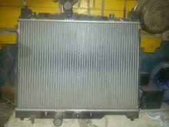 Радиатор охлаждения двигателя. Toyota Vitz, SCP13 Двигатель 2SZFE