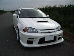 Обвес кузова аэродинамический. Toyota Caldina, ST215