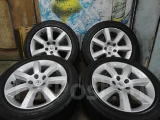 Продам Стильные колёса Nissan Fairlady Z33+Лето 225/235/50R17. 7.5/8.0x17 5x114.30 ET30/33