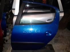 Дверь боковая. Peugeot 206, 2A/C, 2A, C
