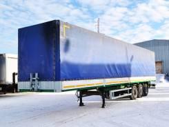 МАЗ 975830-3022, 2011. Бортовой тентованный полуприцеп Маз 2011 г/в, 27 700 кг.