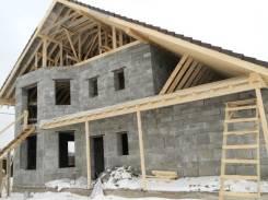 Строительство дома, бани, гаража из отсевоблока