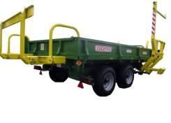 """Sipma. Прицеп самозагрузочный для рулонов """"Дромадер"""" T-150/1 (WS 6510), 6 500 кг. Под заказ"""