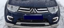 Ходовые огни. Mitsubishi L200 Mitsubishi Pajero Sport