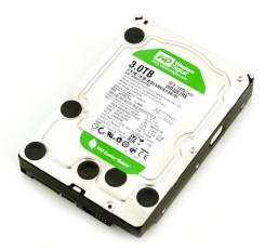 Жесткие диски. 3 000 Гб, интерфейс SATA 2,3