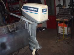 Evinrude. 5,00л.с., 2х тактный, бензин, нога S (381 мм), Год: 1987 год