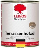 Террасное масло Leinos - арт. 1709 цвет Kastanie | Лайнос