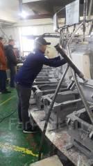 Рабочий. Автомобильный завод в Ю-Корее. И.П.ИМ. Улица Административный Городок 1