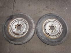 Продам пару колес LT 155 R12. C Nissan Atlas 1991. 4.5x12 5x114.30