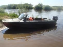 Казанка-5М. Год: 1990 год, длина 4,50м., двигатель подвесной, бензин