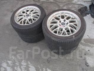 Комплект летних колёс на литье 255/40 235/45 R17 Б/П по РФ. A209. 9.0/8.0x17 5x114.30 ET35/32 ЦО 72,0мм.