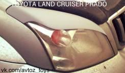 Накладка на фару. Toyota Land Cruiser Prado, GRJ120, GRJ120W