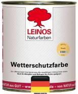 Атмосферостойкое защитное масло Leinos - арт. 1717 цвет Gold teak |Лайнос